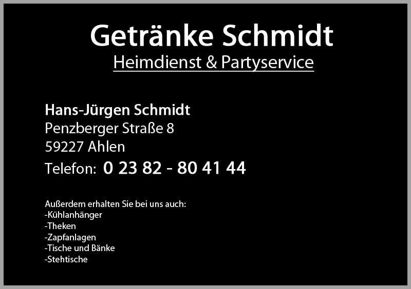 Getränke Schmidt